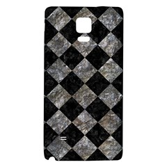 Square2 Black Marble & Gray Stone Galaxy Note 4 Back Case