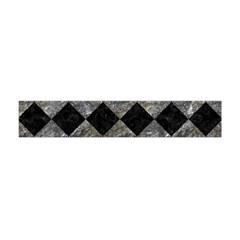 Square2 Black Marble & Gray Stone Flano Scarf (mini)