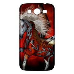 Awesome Steampunk Horse With Wings Samsung Galaxy Mega 5 8 I9152 Hardshell Case