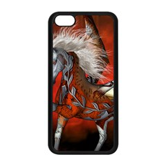 Awesome Steampunk Horse With Wings Apple Iphone 5c Seamless Case (black)