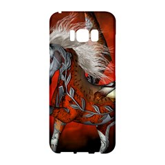 Awesome Steampunk Horse With Wings Samsung Galaxy S8 Hardshell Case