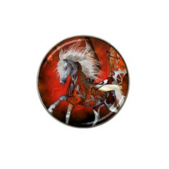 Awesome Steampunk Horse With Wings Hat Clip Ball Marker (10 Pack)