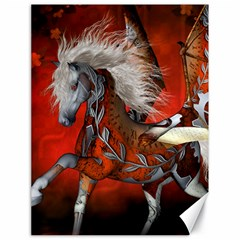Awesome Steampunk Horse With Wings Canvas 18  X 24