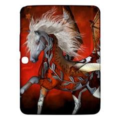 Awesome Steampunk Horse With Wings Samsung Galaxy Tab 3 (10 1 ) P5200 Hardshell Case