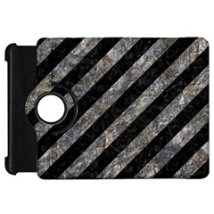 Stripes3 Black Marble & Gray Stone Kindle Fire Hd 7