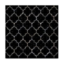 Tile1 Black Marble & Gray Stone Face Towel