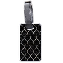 Tile1 Black Marble & Gray Stone Luggage Tags (two Sides)