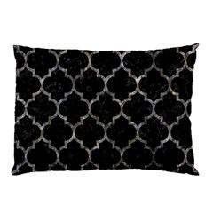 Tile1 Black Marble & Gray Stone Pillow Case (two Sides)