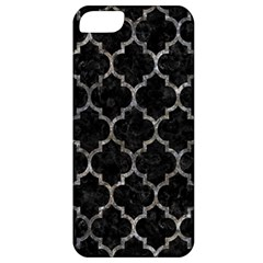 Tile1 Black Marble & Gray Stone Apple Iphone 5 Classic Hardshell Case