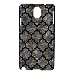 Tile1 Black Marble & Gray Stone (r) Samsung Galaxy Note 3 N9005 Hardshell Case