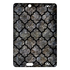 Tile1 Black Marble & Gray Stone (r) Amazon Kindle Fire Hd (2013) Hardshell Case