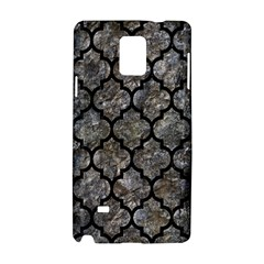 Tile1 Black Marble & Gray Stone (r) Samsung Galaxy Note 4 Hardshell Case