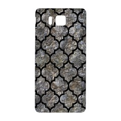 Tile1 Black Marble & Gray Stone (r) Samsung Galaxy Alpha Hardshell Back Case