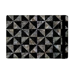 Triangle1 Black Marble & Gray Stone Ipad Mini 2 Flip Cases