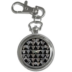 Triangle2 Black Marble & Gray Stone Key Chain Watches