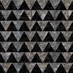 Triangle2 Black Marble & Gray Stone Magic Photo Cubes