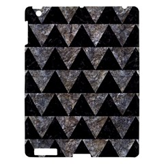 Triangle2 Black Marble & Gray Stone Apple Ipad 3/4 Hardshell Case