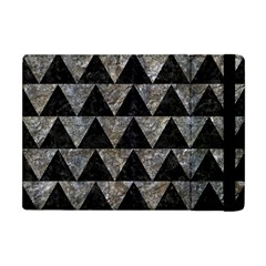 Triangle2 Black Marble & Gray Stone Apple Ipad Mini Flip Case