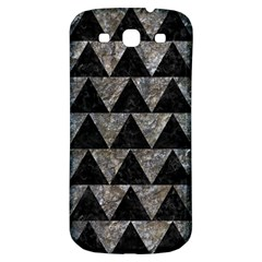 Triangle2 Black Marble & Gray Stone Samsung Galaxy S3 S Iii Classic Hardshell Back Case