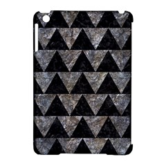 Triangle2 Black Marble & Gray Stone Apple Ipad Mini Hardshell Case (compatible With Smart Cover)