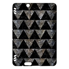 Triangle2 Black Marble & Gray Stone Kindle Fire Hdx Hardshell Case