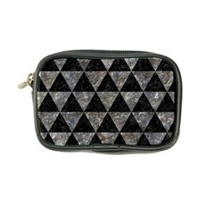 Triangle3 Black Marble & Gray Stone Coin Purse