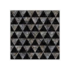 Triangle3 Black Marble & Gray Stone Acrylic Tangram Puzzle (4  X 4 )