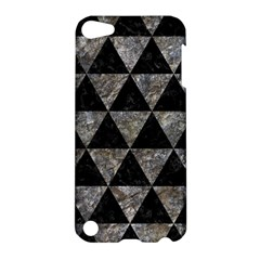 Triangle3 Black Marble & Gray Stone Apple Ipod Touch 5 Hardshell Case