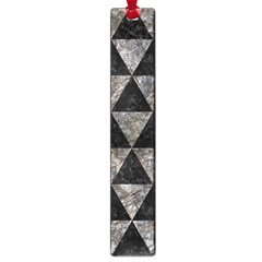 Triangle3 Black Marble & Gray Stone Large Book Marks