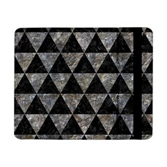 Triangle3 Black Marble & Gray Stone Samsung Galaxy Tab Pro 8 4  Flip Case