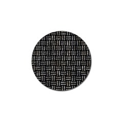 Woven1 Black Marble & Gray Stone Golf Ball Marker (10 Pack)