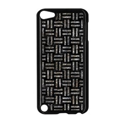 Woven1 Black Marble & Gray Stone Apple Ipod Touch 5 Case (black)