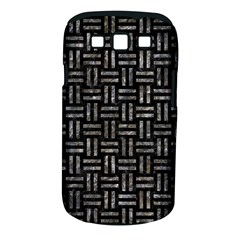 Woven1 Black Marble & Gray Stone Samsung Galaxy S Iii Classic Hardshell Case (pc+silicone)
