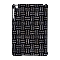 Woven1 Black Marble & Gray Stone Apple Ipad Mini Hardshell Case (compatible With Smart Cover)