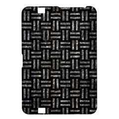 Woven1 Black Marble & Gray Stone Kindle Fire Hd 8 9