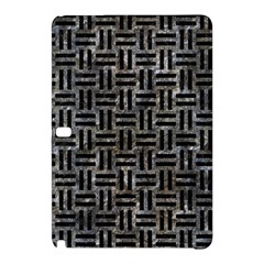 Woven1 Black Marble & Gray Stone (r) Samsung Galaxy Tab Pro 10 1 Hardshell Case