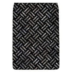Woven2 Black Marble & Gray Stone Flap Covers (l)