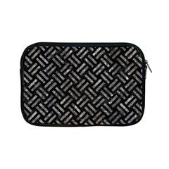 Woven2 Black Marble & Gray Stone Apple Ipad Mini Zipper Cases