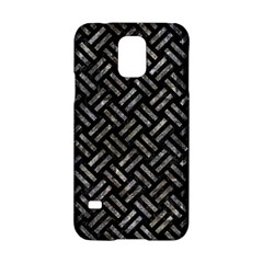 Woven2 Black Marble & Gray Stone Samsung Galaxy S5 Hardshell Case