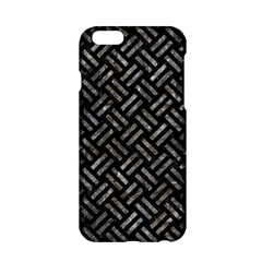 Woven2 Black Marble & Gray Stone Apple Iphone 6/6s Hardshell Case