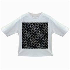 Woven2 Black Marble & Gray Stone (r) Infant/toddler T Shirts