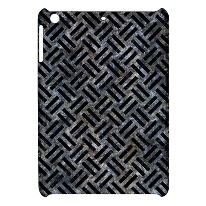 WOVEN2 BLACK MARBLE & GRAY STONE (R) Apple iPad Mini Hardshell Case