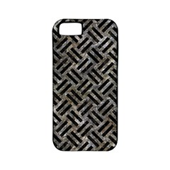 Woven2 Black Marble & Gray Stone (r) Apple Iphone 5 Classic Hardshell Case (pc+silicone)