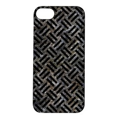 Woven2 Black Marble & Gray Stone (r) Apple Iphone 5s/ Se Hardshell Case