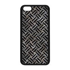 Woven2 Black Marble & Gray Stone (r) Apple Iphone 5c Seamless Case (black)