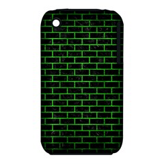 Brick1 Black Marble & Green Brushed Metal Iphone 3s/3gs