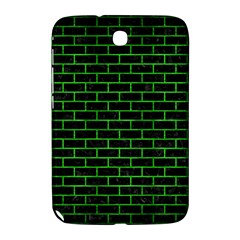 Brick1 Black Marble & Green Brushed Metal Samsung Galaxy Note 8 0 N5100 Hardshell Case