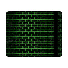 Brick1 Black Marble & Green Brushed Metal Samsung Galaxy Tab Pro 8 4  Flip Case