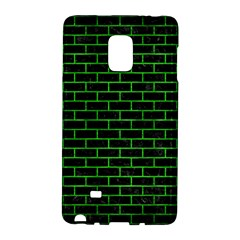 Brick1 Black Marble & Green Brushed Metal Galaxy Note Edge