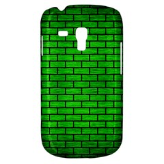 Brick1 Black Marble & Green Brushed Metal (r) Galaxy S3 Mini